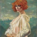 Augustus Edwin John La marchesa Casati 1919