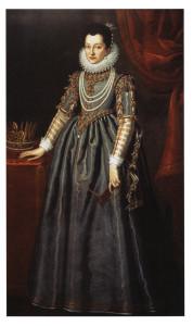Ritratto di Cristina di  Lorena granduchessa di Toscana