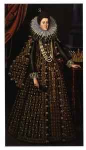 Ritratto di  Maria  Maddalena d'Austria granduchessa di Toscana